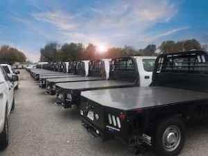 metal flat beds for fleets in OKC