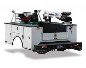 crane service body at Oklahoma Upfitters