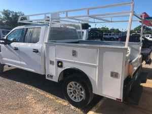 CM service body at Oklahoma Upfitters