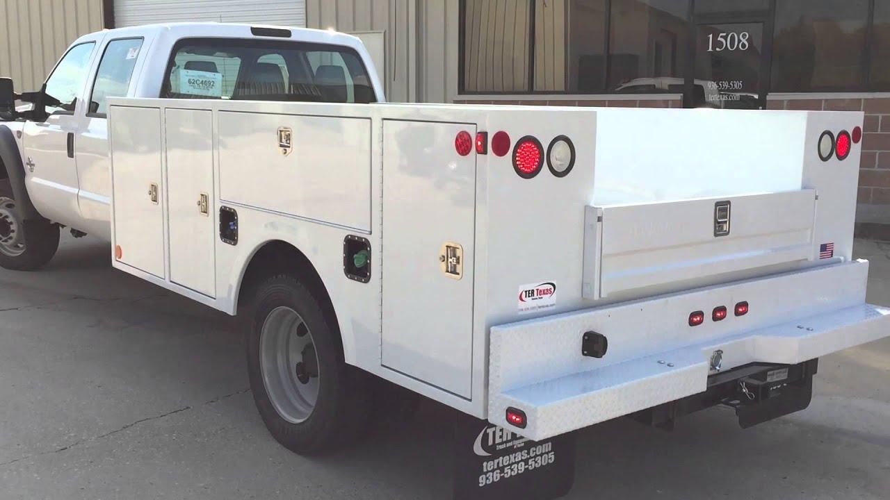 Warner Service Bodies at Oklahoma Upfitters