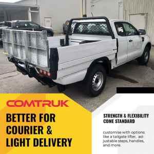 Comtruk light duty courier delivery pickup beds OKC